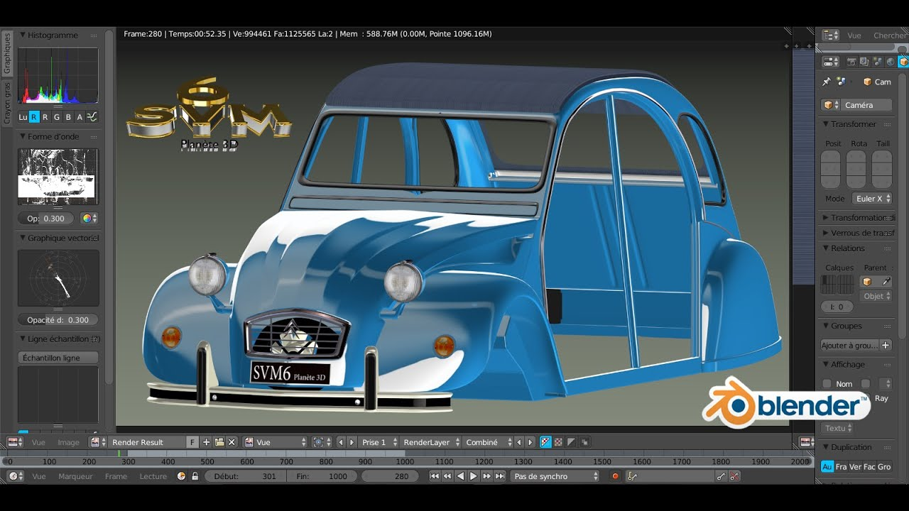 mod liser une voiture 2cv citro n a z tutoriel svm6 n 60 la capote youtube. Black Bedroom Furniture Sets. Home Design Ideas