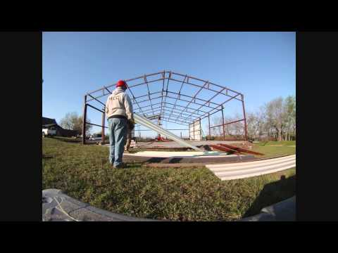 40x60 in 4 days FULL STEEL - YouTube
