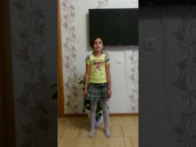 Изображение предпросмотра прочтения – СаминаГареева читает произведение «Здравствуй,лето!» Т.В.Боковой