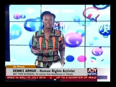 Sex Tape Scandal - Joy News Interactive (8-8-14)
