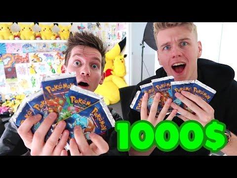 1000$ Pokemon Card Challenge *REMATCH*