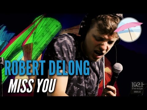 Robert DeLong - Miss You (Rolling Stones Cover ) Live at the Edge