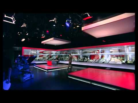 End of the last BBC News at Six from Television Centre