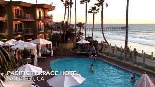San Diego Beach Hotel - Pacific Terrace Hotel
