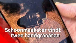 Schoonmaaksters vinden twee handgranaten in shishalounge Pure Lounge in Bergen op Zoom