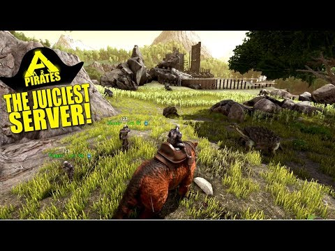 The Juiciest Server! (Ark Pirates Official Pvp) - Ark:Survival Evolved - Ep.18