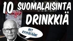 Maailman 10 suomalaisinta juomadrinkkiä