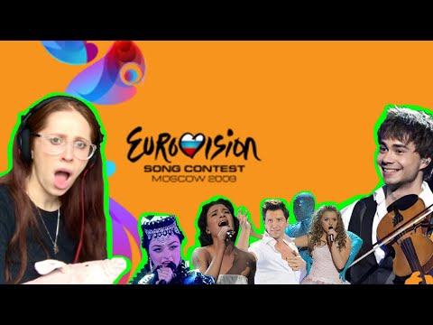 EUROVISION 2009 WAS MENTAL // MY REACTION