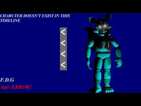FNAG 2 Reborn: Prototype Characters Voices