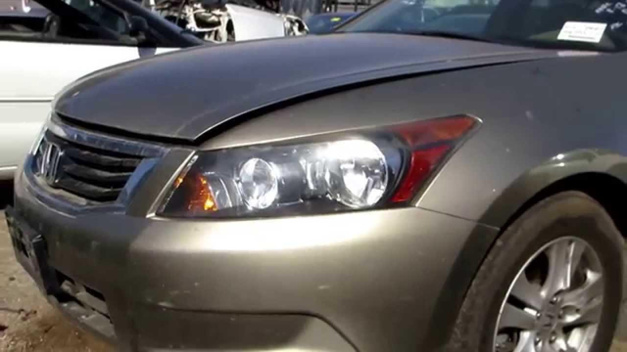 2008 Honda Accord Parting Out At California Auto Parts