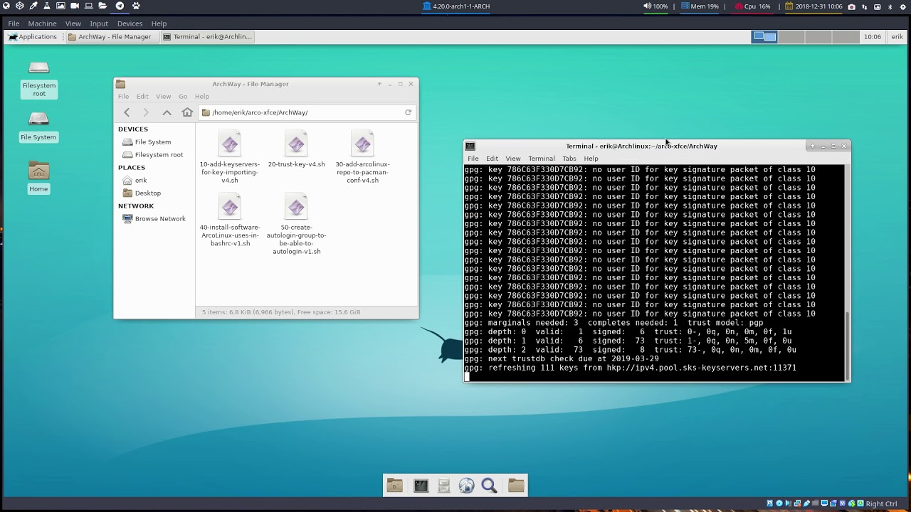 Get your AUR helpers in on any Arch Linux based system | Arcolinuxd com