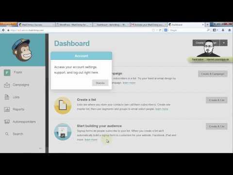 [1/5] mailchimp system verstehen & einrichten — newsletter-crashkurs tutorial