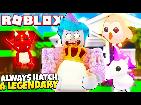 How to ALWAYS Hatch A LEGENDARY Pet in Adopt Me! DOES THIS WORK?! Roblox Adopt Me Hack