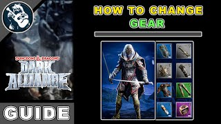 How to Equip Items in Dungeons and Dragons Dark Alliance | Gear FAQ Guide