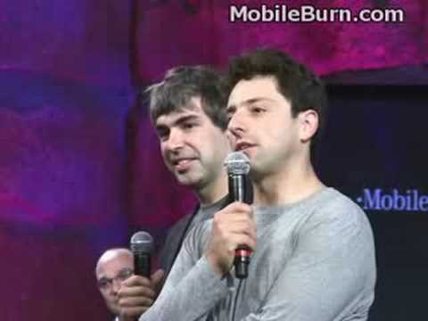 Google Founders on the T-Mobile G1