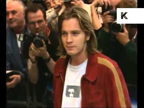 1997 The Fifth Element Film Premiere, London, Jean Paul Gaultier, Ewan McGregor