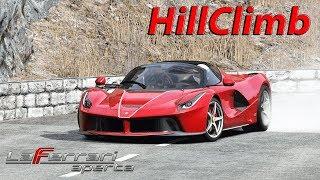 Ferrari LaFerrari Aperta Hill Climb with Powerslides Provence Alps / Assetto Corsa