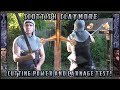 Scottish Claymore Sword Cutting Power and Carnage Test! の動画、YouTube動画。
