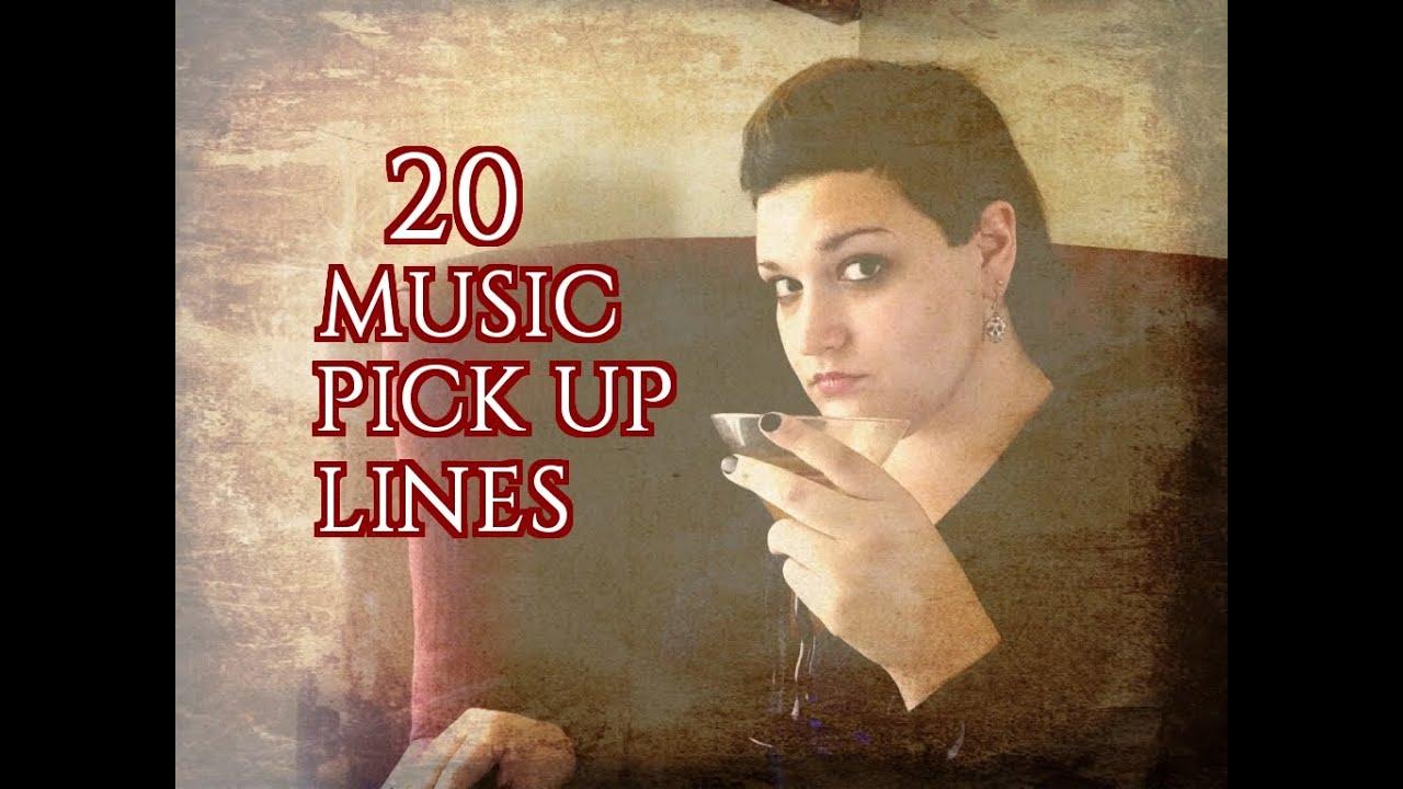 20 music pick up lines youtube. Black Bedroom Furniture Sets. Home Design Ideas
