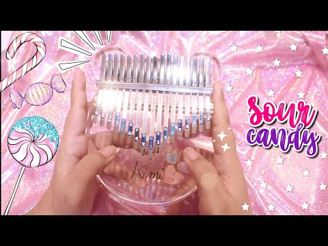 Lady Gaga, BLACKPINK – Sour Candy | Kalimba Cover with Easy Tabs ♡