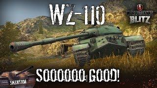 WZ-110 - SOOOO good! - Wot Blitz