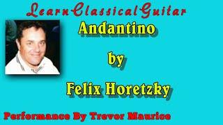 Andantino by Felix Horetzky (www.learnclassicalguitar.com)