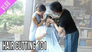 VLOG: hair cutting lessons!