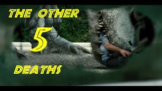 The OTHER 5 Most Brutal Deaths in the Jurassic Park Movies