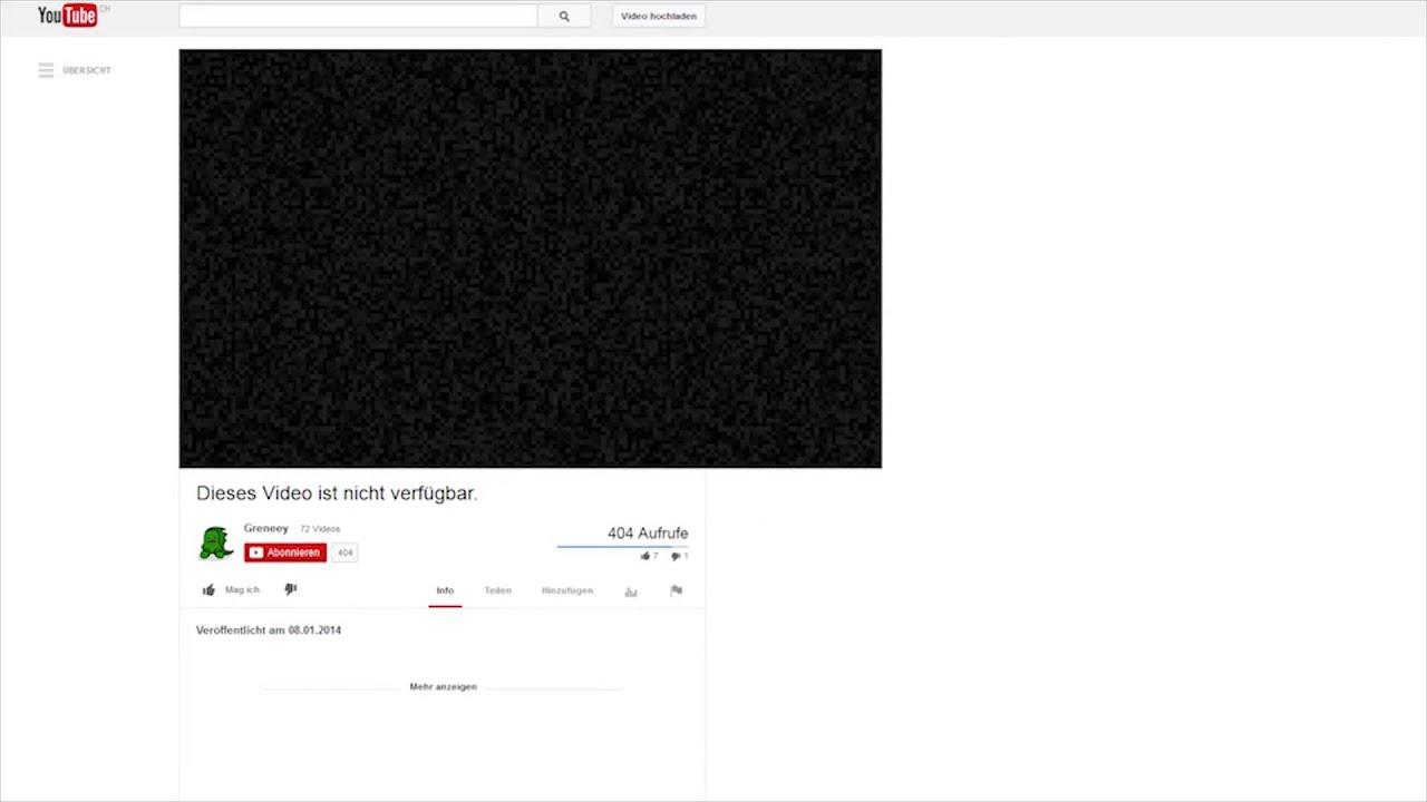 Youtube Dieses Video Ist Nicht VerfГјgbar