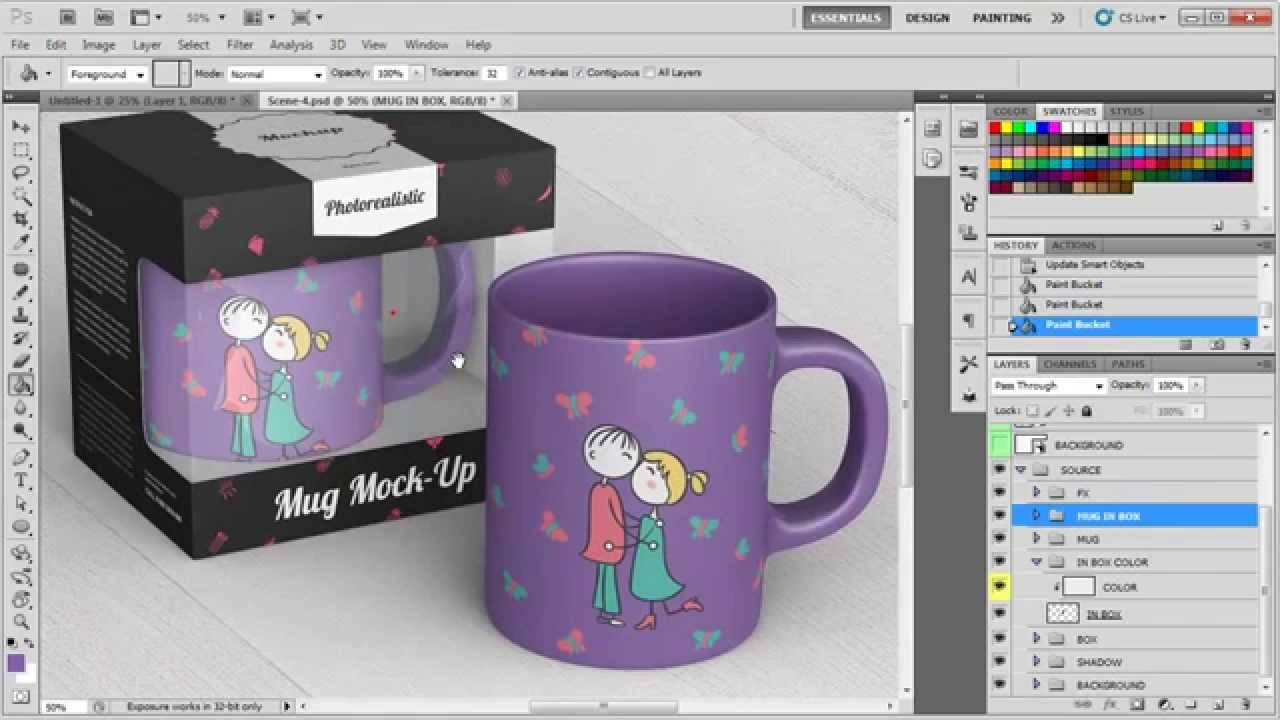 Coffee cup with holder free mockups to showcase your branding design in a. Mug Mockup On Behance