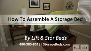 Richard Abbey From Lift & Stor Beds Assembles A Storage Bed