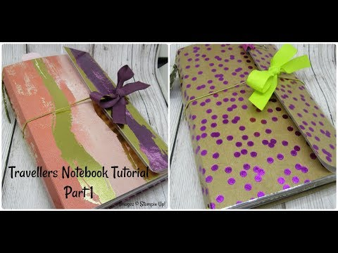 PART 1 Beautiful Travelers Note Book/Organiser Tutorial