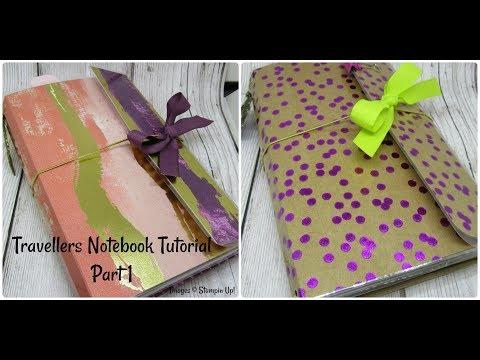 PART 1 Beautiful Travelers Note Book/Organiser Tutorial