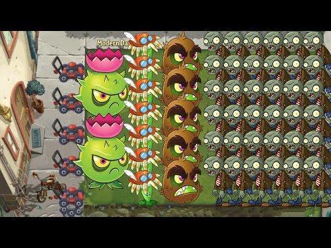 plants-vs-zombies-2---homing-thistle,-bloomerang,-kiwibeast