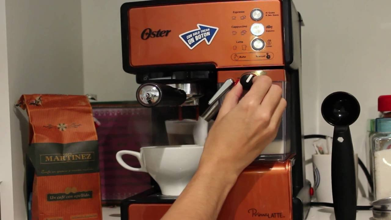 Oster Coffee Maker Stopped Working : Oster Prima Latte - Tutorial Coffee Maker - YouTube