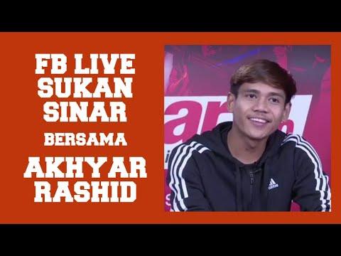 FB Live Sukan Sinar Bersama Akhyar Rashid