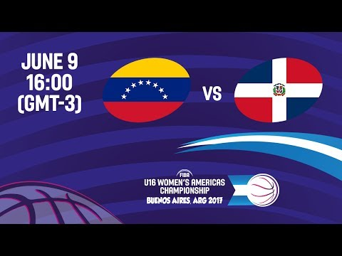 Venezuela vs Dominican Republic - Group A - FIBA U16 Women's Americas Championship