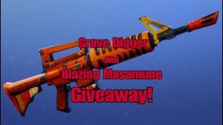 Fortnite Save The World - Grave Digger And Blazing Masamune Giveaway #3 (OVER)