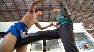Mixed Fight Hot Handsome Guy Ballbusted Nut Kick Part 2