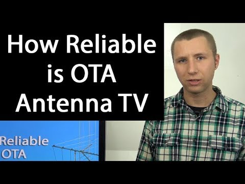 How Reliable Is Over The Air TV With An Antenna?