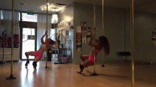 Maddie Sparkle and Rogue Dance Filthy dirty sexy choreo  2016 Pole Dance Academy Summer Camp