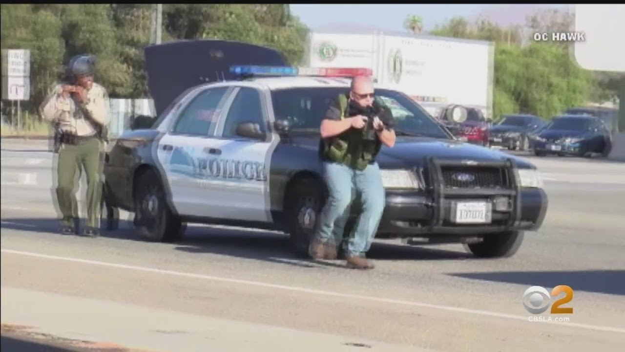 1 CHP Officer Dead, 2 Injured In Shooting On 215 Freeway