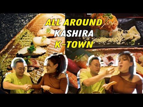 Eating The Best SUSHI At KASHIRA | ALL AROUND KTOWN