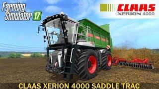 Farming Simulator 17 CLAAS XERION 4000 SADDLE TRAC