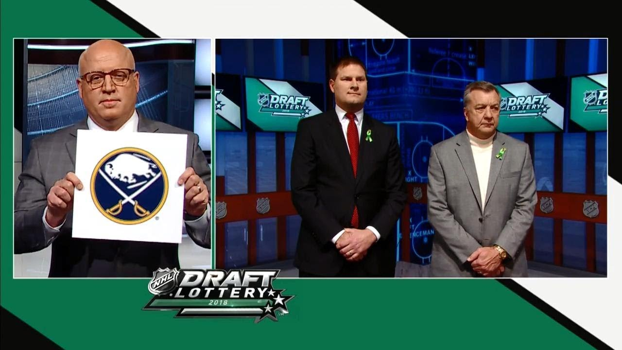 Buffalo Sabres win 2018 NHL Draft Lottery - YouTube