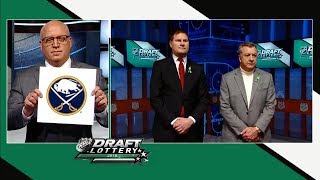 Buffalo Sabres win 2018 NHL Draft Lottery