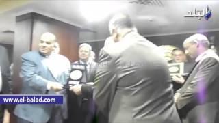 بالفيديو والصور .. وزير القوى العاملة يكرم مسئولين وعاملين بالسلامة والصحة المهنية بالدقهلية