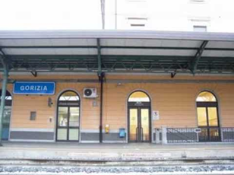 From railway station in  Gorizia ( I ) to railway station in Nova Gorica (SLO)