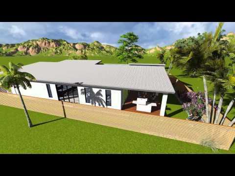 New! House Design 3d Video Preview - External - C&B Designs Townsville