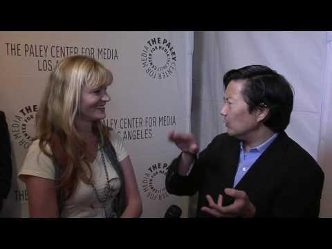 Ken Joeng Senor Chang interview for Community at the Paleyfest TV Festival 2010